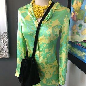 Beautiful Hugo Buscati silk dress size 2